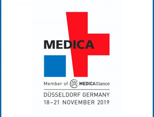 Novembre 2019 – Cored in visita alla fiera Medica